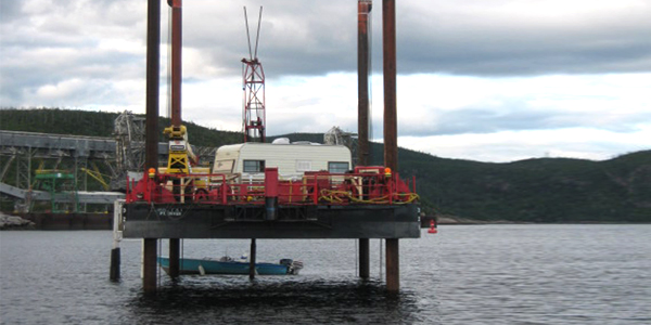 Marine geotechnical study for the establishment of a new dock in order to accommodate Supramax and Panamax class ship in the Alcoa plant, Baie-Comeau, Canada